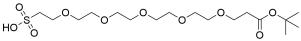 t-Butoxycarbonyl-PEG5-sulfonic acid