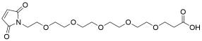 Mal-PEG5-acid
