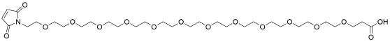 Mal-PEG12-acid