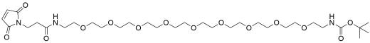 Mal-amido-PEG9-NHBoc