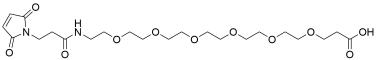 Mal-amido-PEG6-acid