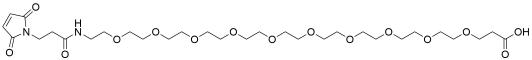 Mal-amido-PEG10-acid