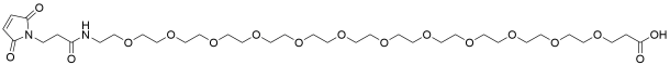 Mal-amido-PEG12-acid