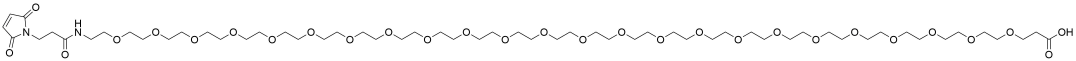 Mal-amido-PEG24-acid