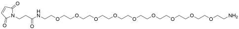 Mal-amido-PEG9-amine TFA salt