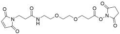 Mal-amido-PEG2-NHS