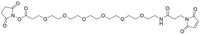 Mal-amido-PEG6-NHS