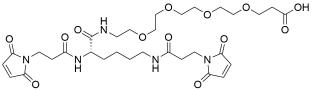 Bis-Mal-Lysine-PEG4-acid