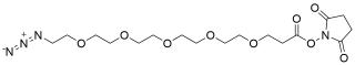 Azido-PEG5-NHS ester