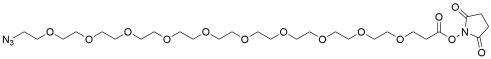 Azido-PEG10-NHS ester