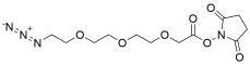Azido-PEG3-CH2CO2-NHS