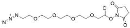 Azido-PEG4-CH2CO2-NHS