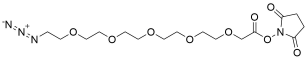 Azido-PEG5-CH2CO2-NHS