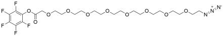 Azido-PEG8-CH2CO2-PFP