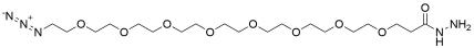 Azido-PEG8-hydrazide HCl Salt
