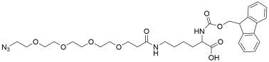 N-Fmoc-N'-(azido-PEG4)-L-Lysine