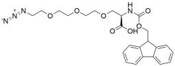 N-Fmoc-Azido-tris(ethylenoxy)-L-alanine