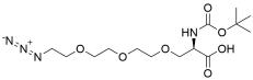 N-Boc-Azido-tris(ethylenoxy)-L-alanine