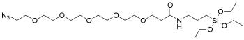 Azido-PEG5-triethoxysilane
