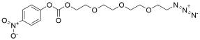 Azido-PEG4-4-nitrophenyl carbonate