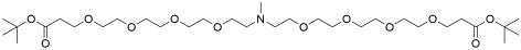 N-Me-N-bis(PEG4-t-butyl ester)