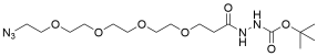 Azido-PEG4-t-Boc-hydrazide