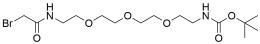 Bromoacetamido-PEG3-Boc-amine