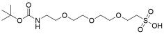 t-Boc-N-amido-PEG3-sulfonic acid