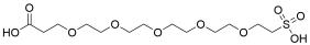Carboxy-PEG5-sulfonic acid