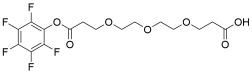 Acid-PEG3-PFP ester