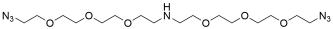 NH-bis(PEG3-azide)