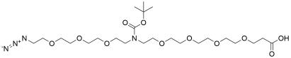 N-(Azido-PEG3)-N-Boc-PEG4-acid