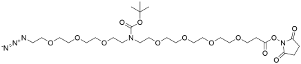 N-(Azido-PEG3)-N-Boc-PEG4-NHS ester