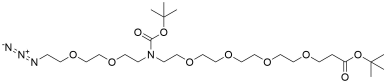 N-(Azido-PEG2)-N-Boc-PEG4-t-butyl ester