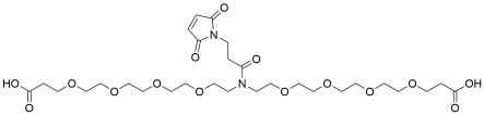 N-Mal-N-bis(PEG4-acid)