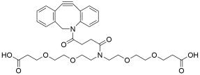 N-DBCO-N-bis(PEG2-acid)