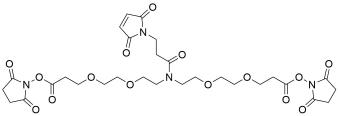 N-Mal-N-bis(PEG2-NHS ester)