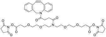 N-DBCO-N-bis(PEG2-NHS ester)