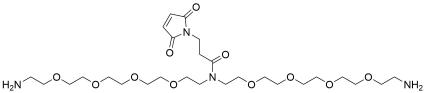 N-Mal-N-bis(PEG4-amine) TFA salt