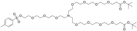 N-(Tos-PEG4)-N-bis(PEG4-t-butyl ester)