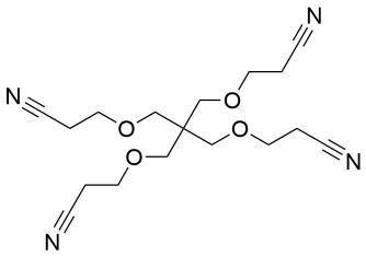 Tetra(Cyanoethoxymethyl) Methane