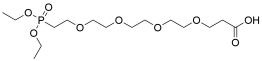 Carboxy-PEG4-phosphonic acid ethyl ester