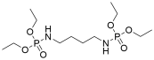[4-(Diethoxy-phosphorylamino)-butyl]-phosphoramidic acid diethyl ester