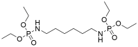 [6-(Diethoxy-phosphorylamino)-hexyl]-phosphoramidic acid diethyl ester