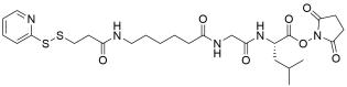 SPDP-C6-Gly-Leu-NHS ester