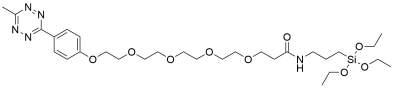 Methyltetrazine-PEG5-triethoxysilane