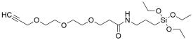 Propargyl-PEG3-triethoxysilane