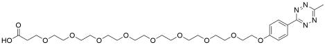 Methyltetrazine-PEG8-acid