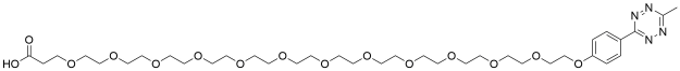 Methyltetrazine-PEG12-acid