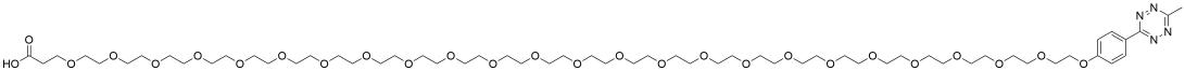 Methyltetrazine-PEG24-acid